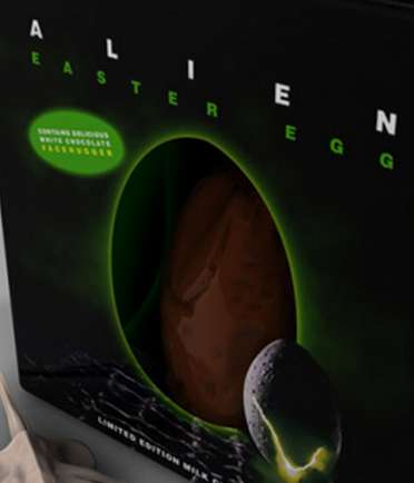 alien easter egg