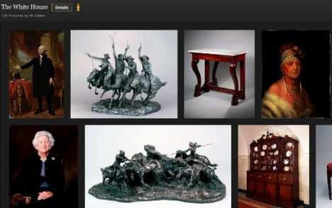 Interactive Online Galleries (UPDATE) - The Google Art Project Expansion Incorporates Social Media