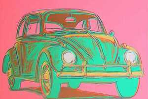 Andy Warhol Car Art Colors the Past in Vibrant Hues