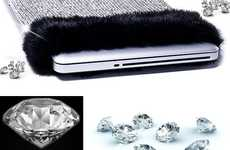 Opulent Computer Sleeves - The World's Most Expensive Diamond Laptop Case is Luxurious