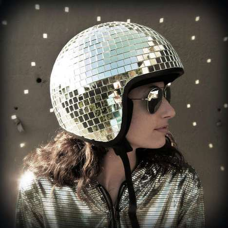 diy disco helmet