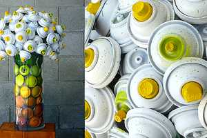 CanLove Uses Discarded Cans to Create Ornate Flower Vases