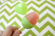 Festive Freezer Pops - These Easter Egg Popsicles Offer Hip Holiday Refreshment