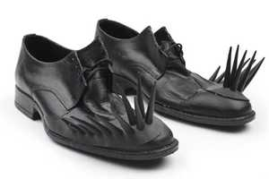 These Spiky Shoes are Edgy and Daring
