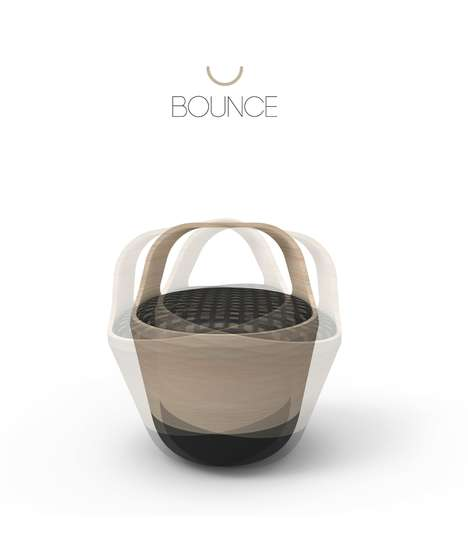 bounce chair by pedro gomez