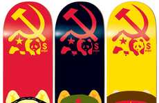 Communist Pig Skate Decks - The Enjoi Spring 2012 Collection of Boards is Edgy and Historic