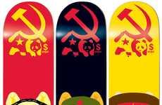 Communist Pig Skate Decks