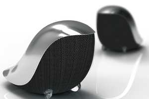 The Wrenz Birdie Speakers Will Have You Staring While You're Listening
