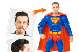 The Personalised Superhero Action Figures Turn You into Batman