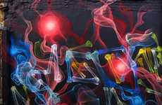 Guerrilla X-Ray Graffiti - SHOK-1 is a Doctor of Street Art