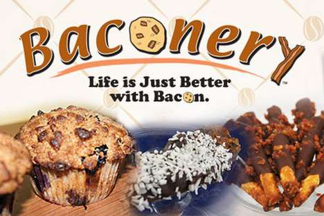 Bacon-Only Bakeries - The Baconery Restaurant Focuses on Pork-Centric Confections