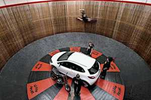 The Mazda on 'The Wall of Death' is an Act Fit for the Circus