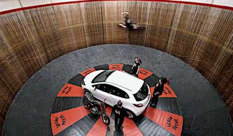 mazda on the wall of death