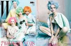 Pastel-Haired Editorials - The W Korea March 2012 Shoot is Colorful