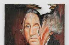 Deliberately Destroyed Artwork
