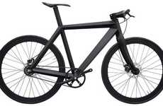 Stealth Black Bicycles - The X9 Nighthawk Bike by Brano Meres is Lightweight and Good-Looking