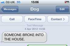 Comedic Canine Telecommunications