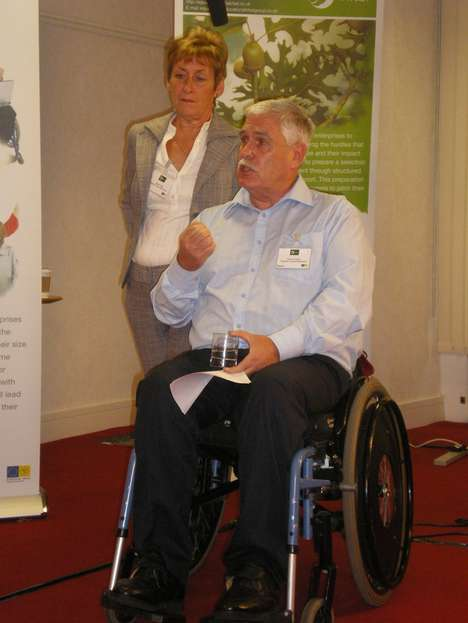 Peter Cousins, Founder of Brighter Future Workshop - Teaching Tech Skills to Disabled Youth