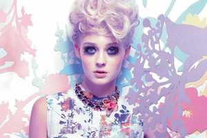 A Spring-Infused Harrods Magazine March 2012 Shoot