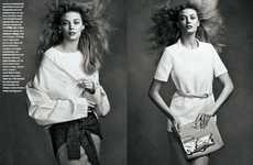 Windblown Minimalist Editorials