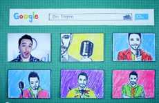 Jazzy Search Engine Songs - Googleable by Ori Dagan is a Creative Stop-Motion Clip