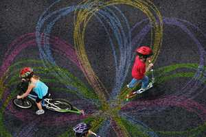 'Chalktrail' Lets You Color the Sidewalks While You Cruise