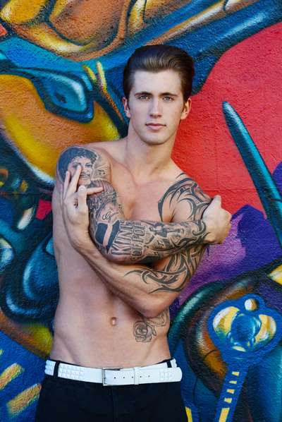 daniel osborne male model scene exclusive