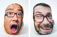 Personalized Visage Cushions (UPDATE) - The 'PillowMob' Pillows Put Your Face on a Plush