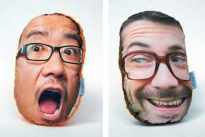 The 'PillowMob' Pillows Put Your Face on a Plush