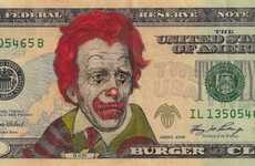 Celebrity-Faced Dollar Bills