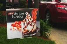 Porky Frozen Treats - Burger King's Bacon Ice Cream Sundae is Either Delicious or Gross