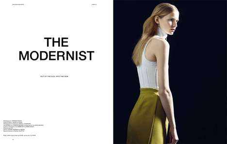 sleek magazine the modernist