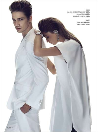Couple Mimicry Captures - The Walmir Birchler All,Men Editorial is Sleek and Stylish