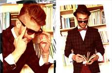 Luxe Library Photoshoots - The Can You Read My Mind Gui Costa Editorial is Dapper and DIstinguished