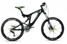 Sports Car-Inspired Cycles - The BMW Mountainbike Enduro Sports a Bold Paint Job and Price Tag