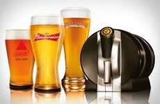 Countertop Beer Kegs - The 'Draftmark Tap System' Keeps Brews Cool and Fresh for Up to 30 Days