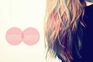 Lauren Conrad Inspires the Kandee Johnson Hair Chalking Video