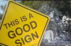 Reinforcing Positive Road Symbols
