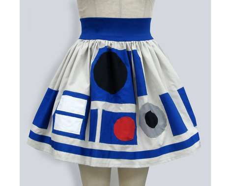26 Rad R2D2-Inspired Creations - From Star Wars Kicks to Sci-Fi Head Protectors