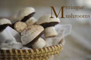 These Meringue Mushrooms Offer a Chocolaty Take on the Real Deal