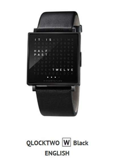 qlocktwo watch
