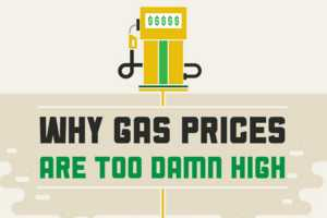 The 'Why Gas Prices Are Too Damn High' Infographic Makes One Want a Bike