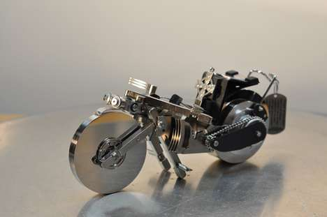 miguel rivera hard drive sculptures