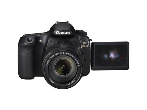 Cosmo Capturing Cameras - The Canon Eos 60da DSLR Takes Intergalactic Photos of Space