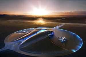 The Virgin Galactic 'Spaceport America' is the First of Its Kind