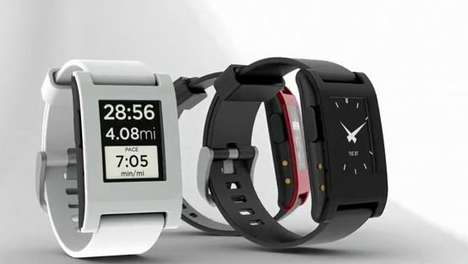pebble e paper watch