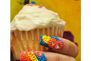 From Frosted Dessert Manicures to Sparkling Snowflake Nails
