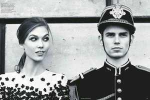 The Vogue UK 'An American in Paris' Shoot Stars Karlie Kloss