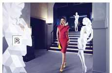 Broken Image Fashion Ads - The Harvey Nichols SS12 Campaign Encourages People to Be Seen