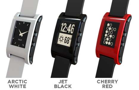 the innovative pebble watch